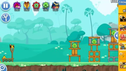 Angry Birds Friends - готина игра