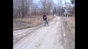 дрифт с колело - част5