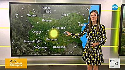 Прогноза за времето (23.10.2019 - сутрешна)