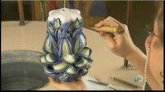 Как се прави красива декоративна свещ