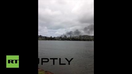 Над 12 пехотинци са приети в болница след инцидент на Хаваите