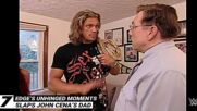 Edge's unhinged moments: WWE Top 10, Oct. 21, 2021