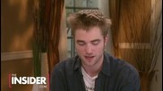 The Insider Interviews with Robert Pattinson, Kristen Stewar