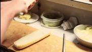 Историята на сандвича- скаридите на Po Boy