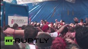 Spain: Splat! Tomatoes fly at world's 'biggest' food fight