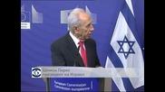 """Израелският президент Шимон Перес призова ЕС да обяви """"Хизбулла"""" за терористична организация"""