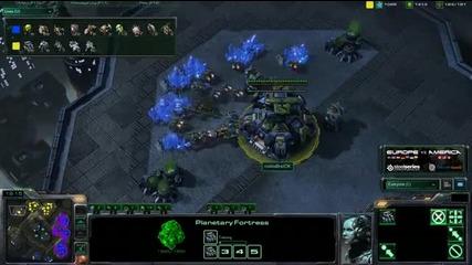 Bratok vs Slush - Game 1 - Tvz - America vs Europe - Metalpo