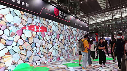 China: LED screens, projections and lights shine bright at Shenzhen Expo
