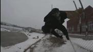 Издънка - Ски скок над ограда