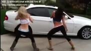 Really Skinny Hot Teens Twerking Upskirt and Downblouse