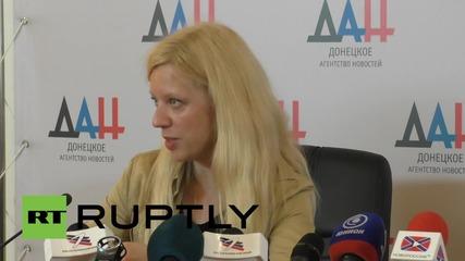 "Ukraine: World-famous pianist Lisitsa celebrates the ""symbolic"" outcome of her Donetsk concert"