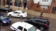 Откачен шофьор разбива шест автомобила !