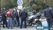 Скандал между атакисти и протестиращи пред Парк Хотел Москва София 17.11.2013г.