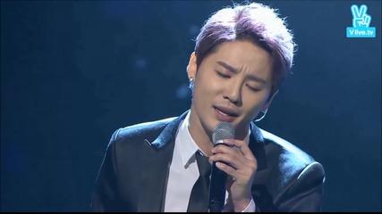 Xia Junsu - Yesterday (151029 Korean Popular Culture & Arts Awards)