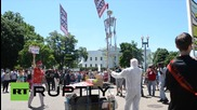 USA: Anti-GMO groups march on White House for Occupy Monsanto