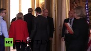 France: Kerry meets with French FM Fabius to discuss joint attacks on IS