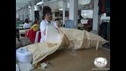 Подготовка за употреба на шалте за шезлонг
