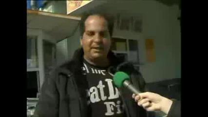 ! Глупав циганин дава интервю