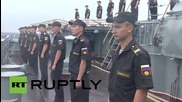 Russia: Naval parade marks end of Russian-Chinese 'Joint Sea' drills
