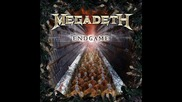 Megadeth - The Hardest Part Of Letting Go (new Album - Endgame)