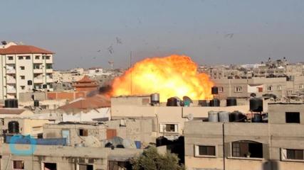 Israel Raids Gaza, Islamic State Sympathizer Claims Rocket Fire