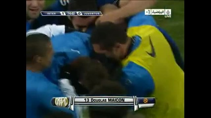 Maicon Amazing goal