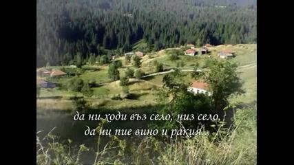 Жинка Толсузова - Мома седи под червен трендафил