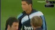Cristiano Ronaldo Тренира c Реал Мадрид Exclusive 21072009 - Hd