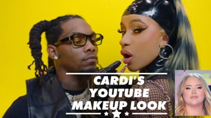 Cardi B recreates NikkieTutorials' makeup in music video