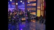 Преслава: Да го лапна повече!? (Вечерното Шоу на Азис) 16.12.2008г.