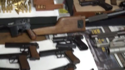 Russia: Police uncover massive replica weapons haul in Moscow region warehouse
