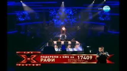 X Factor Bulgaria Рафи 22.11.2011