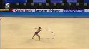 Мария Матева - лента - Европейско първенство Минск 2015