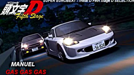 Initial D 5th Stage Soundtrack Gas Gas Gas