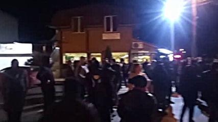 Протест на жителите на Нови Искър