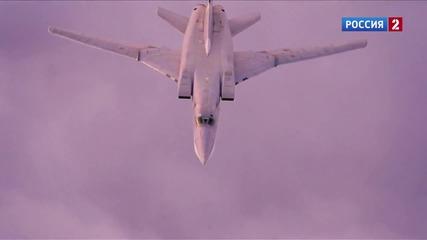 Стратегически ракетоносци Ту-160, Ту-95мс и Ту-22м3