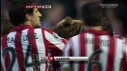 Athletic Bilbao 2 - 0 Real Zaragoza ( Llorente )