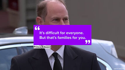 Prince Edward proves he's the royal wise uncle speaking out on Harry & Meghan
