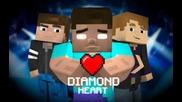 ♪ _Diamond Heart_ (A Minecraft Parody of Imagine Dragons - Demons)