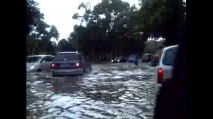 The Flood In Burgas Last Day