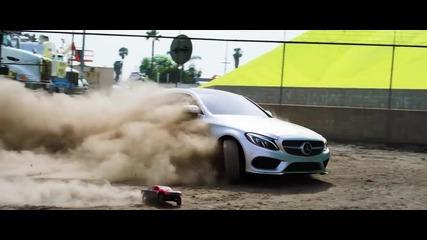 Истински Адреналин! Parkour vs Rc Car vs C-class Coupe - The Ultimate Race!