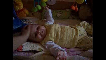 Бебе Андреа на 4 Месеца