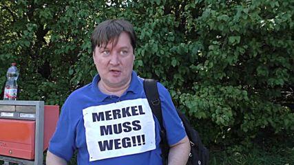 Протести в Чехия срещу посещението на Ангела Меркел