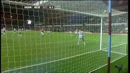 Aston Villa 0:1 Manchester Utd - C.ronaldo
