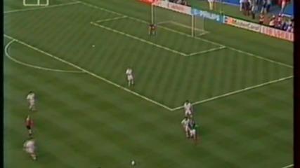 Футбол Мексико - България 1994 - Продължения - Част 3/4 (високо качество)