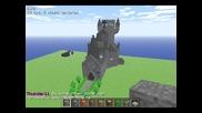 Minecraft -много яки и хубави сгради