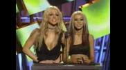 Christina Aguilera&britney Spears Presenti