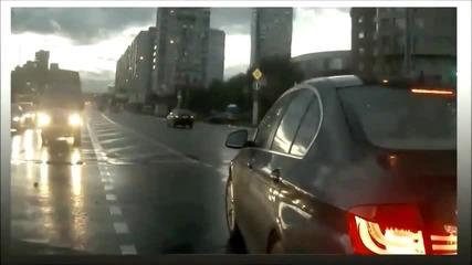 В русия се появи призрачна кола ..