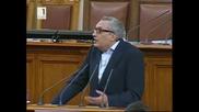 Иван Костов при подаването на оставка на Борисов 20.02.2013