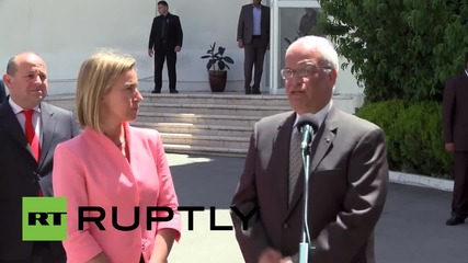 State of Palestine: 'EU committed to seeking re-launch of peace talks' - Mogherini